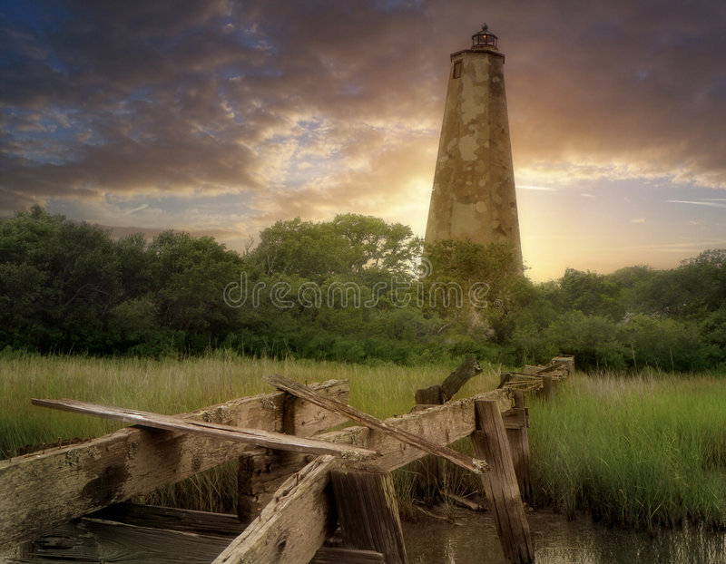 Download Old Baldy-Hor. stock photo. Image of again, newness, coastal - 2785248