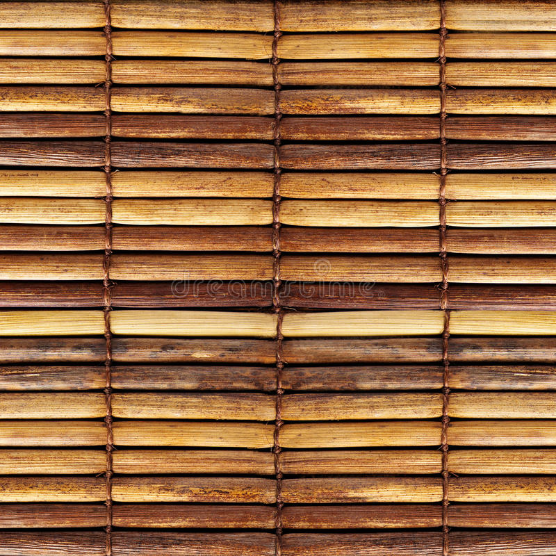 Old bamboo blinds. Texture of old bamboo blinds stock photography