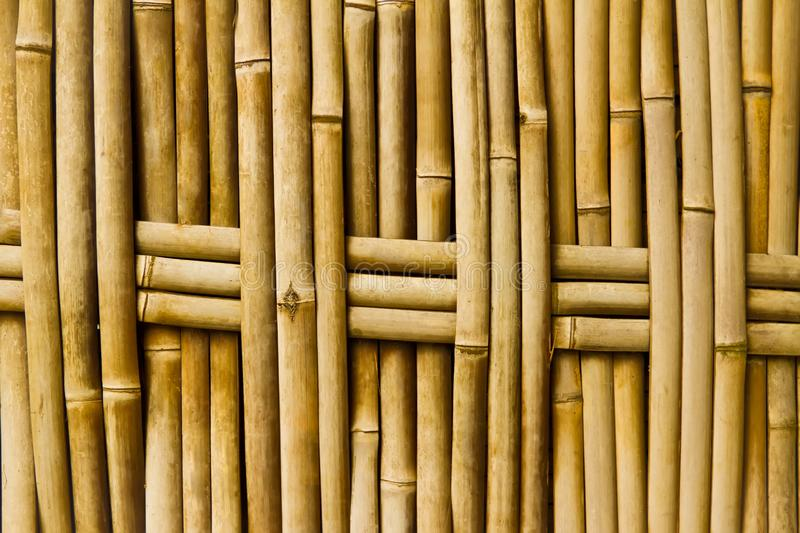 Old bamboo texture stock photography