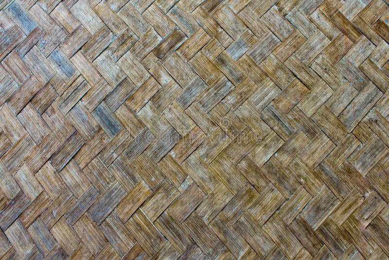 Download The old bamboo weave stock image. Image of seamless, closeup - 28444983