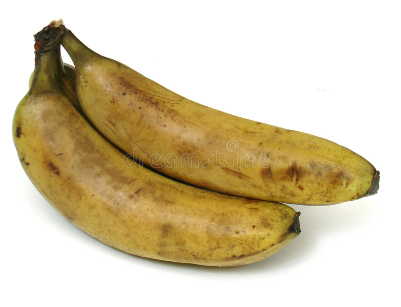 Old bananas royalty free stock image