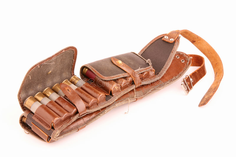 Download Old bandolier stock photo. Image of bore, equipment, fastener - 8100788