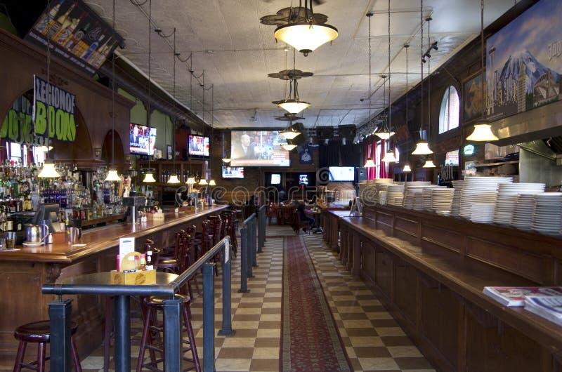Old bar restaurant royalty free stock image