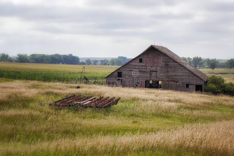 Old Barn - 5 royalty free stock images