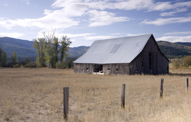 Download Old barn in a rural area. stock photo. Image of pasture - 11320790