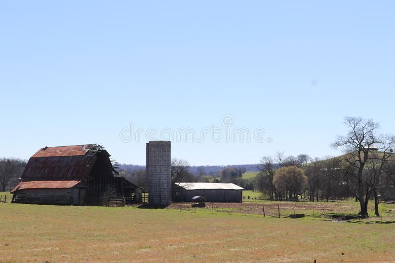 The Old Barn royalty free stock photo