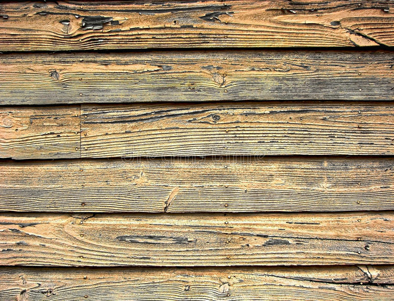 Old Barn Wood Weathered Clapboard Background Stock Images