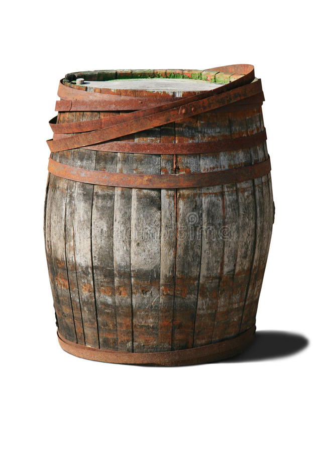 Free Old Barrel Stock Photography - 20601752