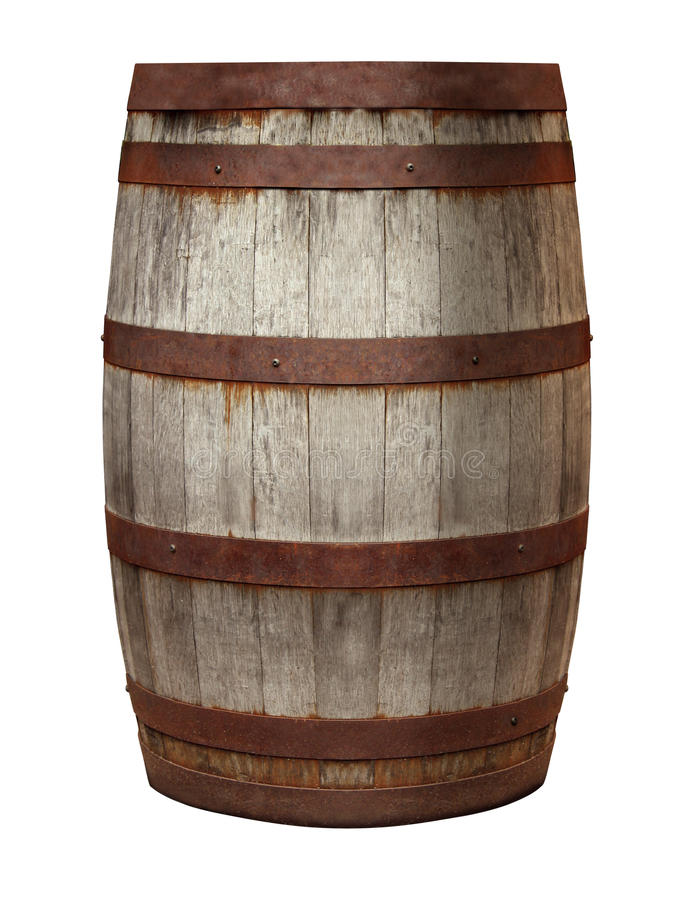 Old Barrel royalty free stock photos