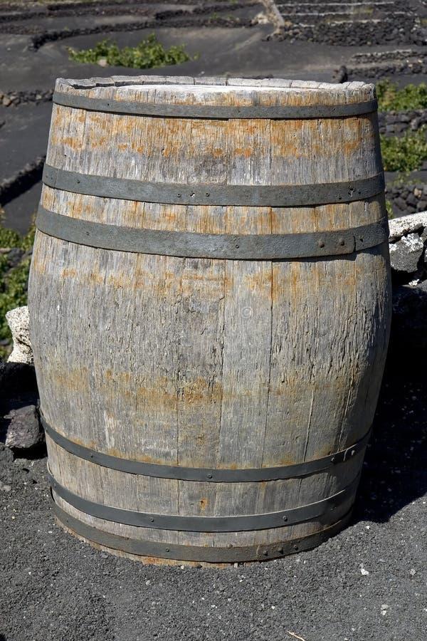 Old barrel royalty free stock photo