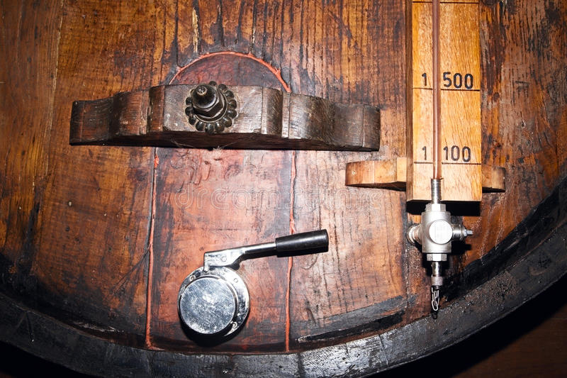 Download Old Barrels In A Wine Cellar Stock Photo - Image: 83710815