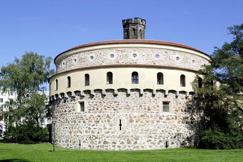 Old Bastion of Goerlitz in Germany royalty free stock photography