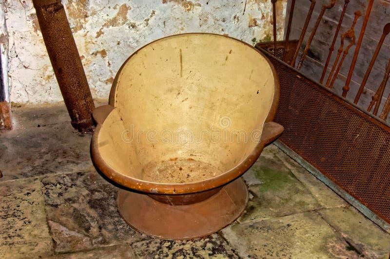 Old Bath Tub stock photo