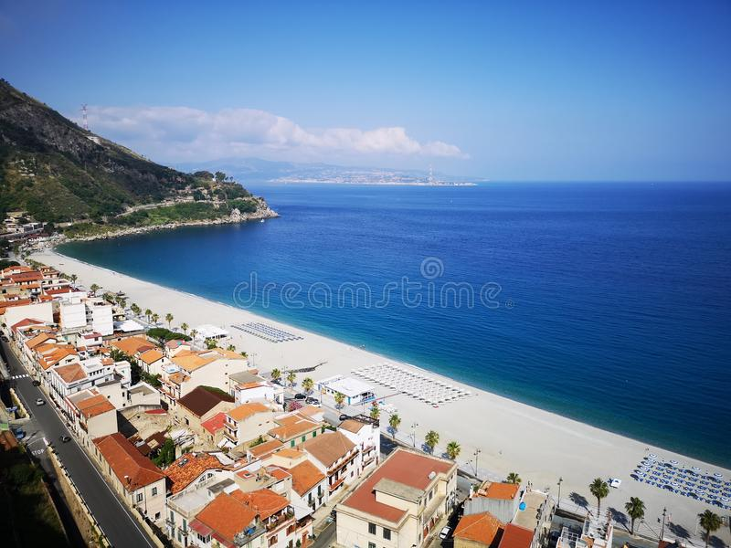 Scilla old historical town, Italy stock images