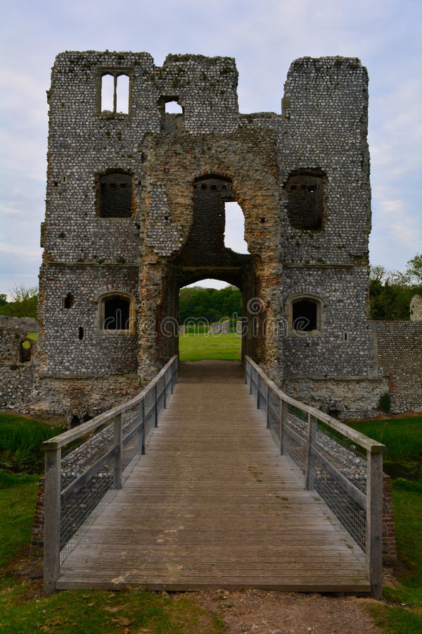 Free Old Beautiful Ruined Entrance Of Baconsthorpe Castle, Norfolk, United Kingdom Royalty Free Stock Photos - 54854518