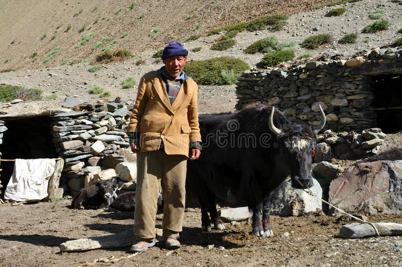 Download Old Bedouin Man From Ladakh (India) Editorial Stock Photo - Image: 26806208