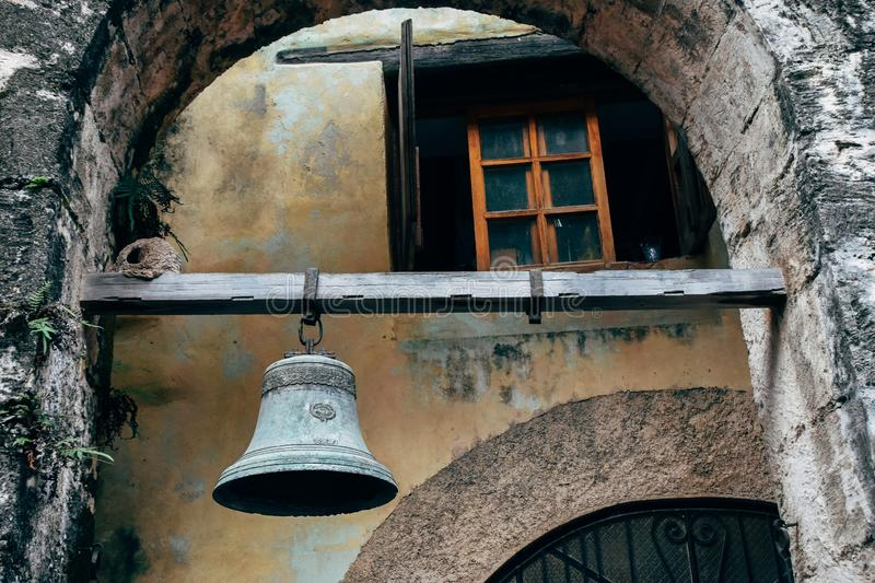 A old bell in Havana, Cuba. royalty free stock photo