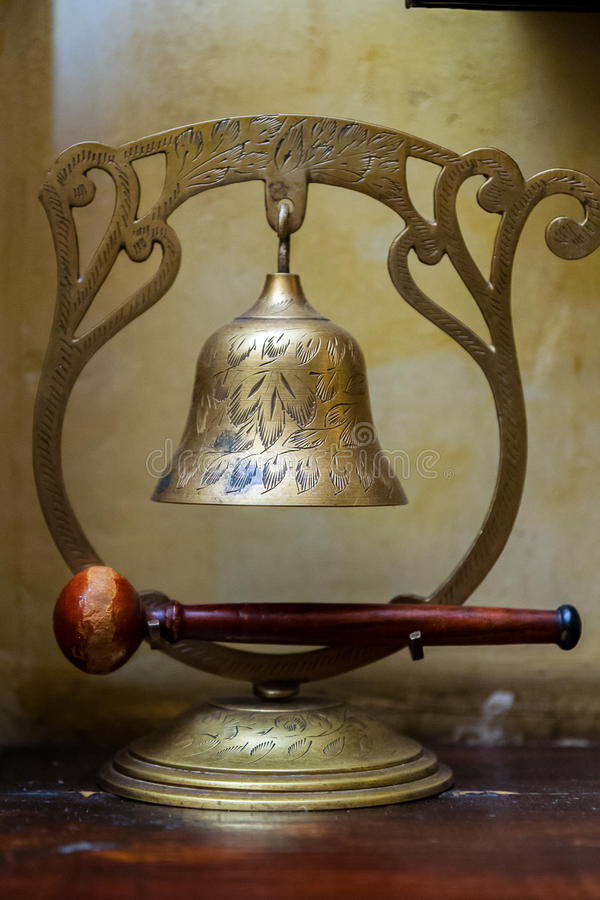 Old bell royalty free stock photo