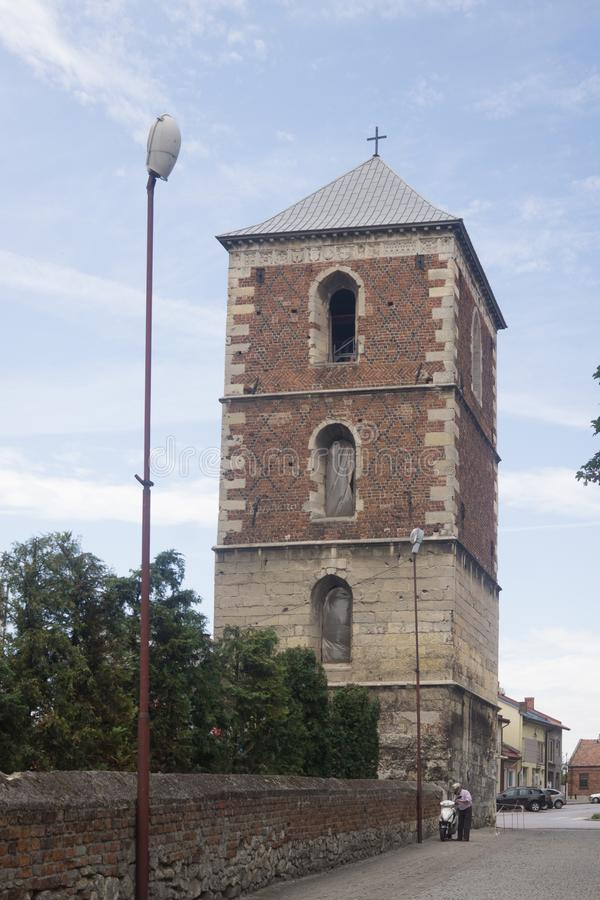 Free Old Bell Tower In Wislica Royalty Free Stock Images - 156930959