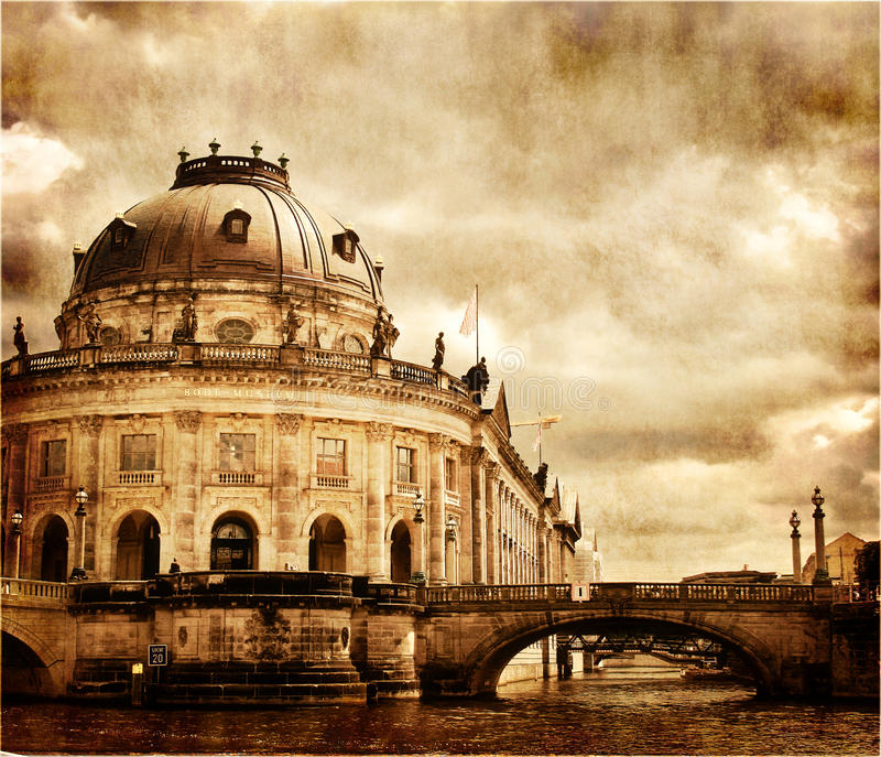 Old Berlin royalty free stock photos