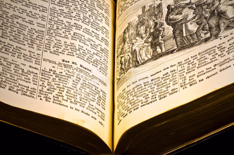 Download Old bible stock image. Image of bible, open, holy, black - 4679929