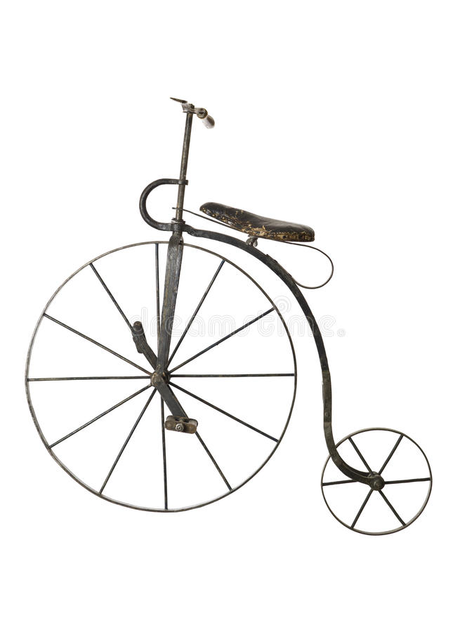 Free Old Bicycle Royalty Free Stock Photo - 12253135