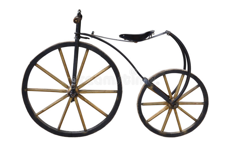 Download Old Bicycle stock photo. Image of vehicle, white, vintage - 16221390