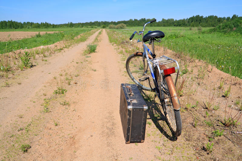 Download Old bicycle stock image. Image of field, classic, 1940 - 19802007