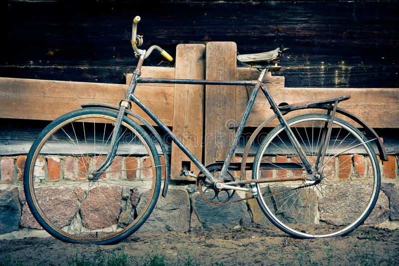 Download Old bicycle stock image. Image of wheels, boneshaker - 26290471