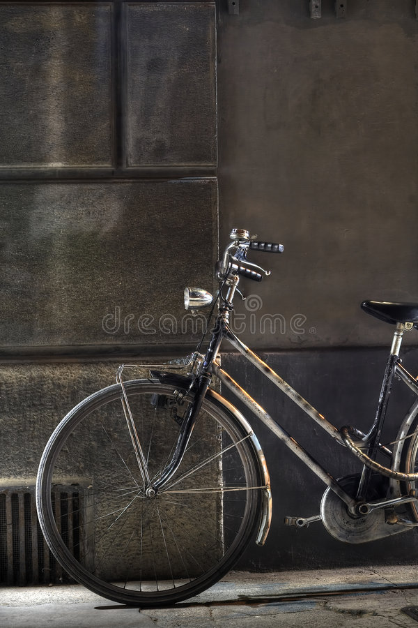Download Old Bicycle stock image. Image of cycle, security, rusty - 918113