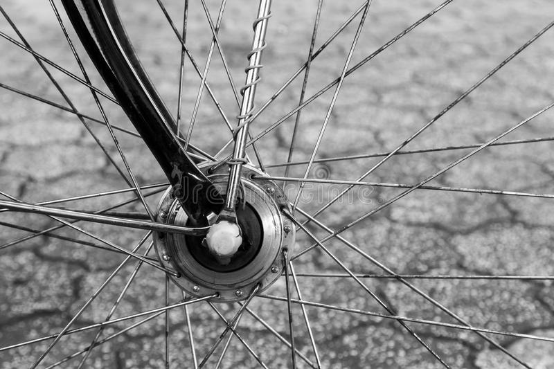 Old bicycle royalty free stock images