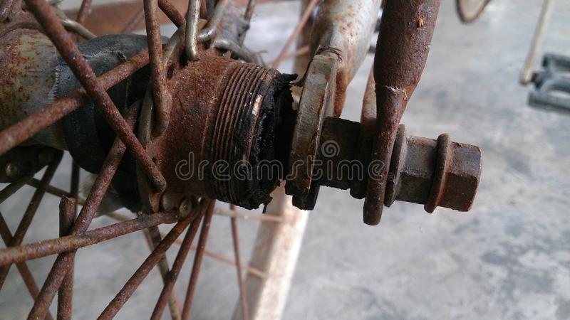 Old 3 bicycle royalty free stock image