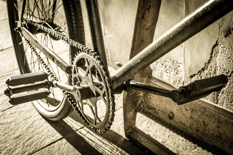 Download Old bike stock image. Image of sprocket, cycling, metal - 34277713