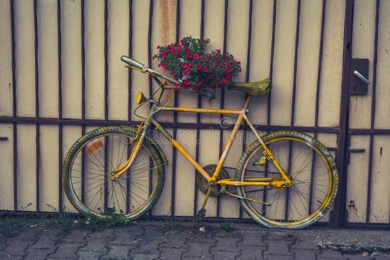 Old bike stock photography