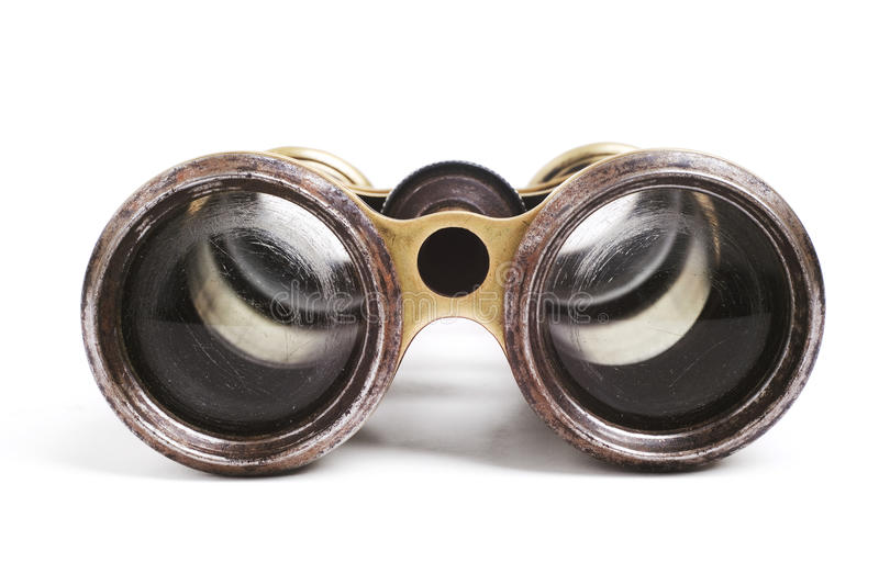 Download Old binoculars stock image. Image of obsolete, isolated - 16441167