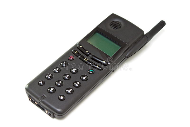 Old Black Cell Phone Royalty Free Stock Image