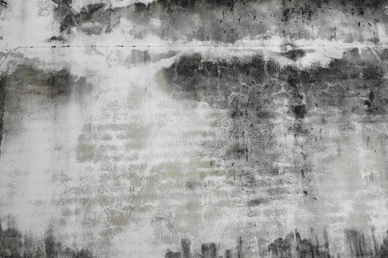 Old black and white wall royalty free stock image