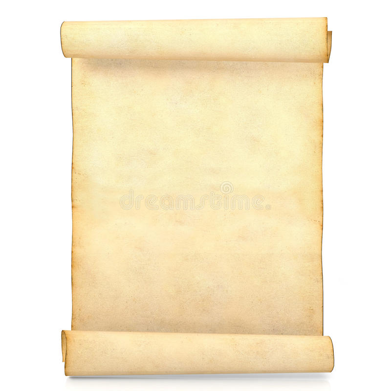 Old blank antique scroll paper isolated on white background stock download old blank antique scroll paper isolated on white background stock photo image 76523446 toneelgroepblik Gallery