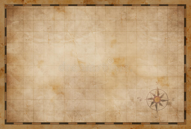 Download Old Blank Map Background Stock Illustration Of Ancient