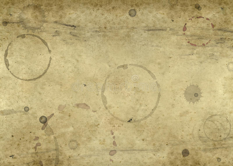 Download Old Blotched Paper Background Stock Image - Image: 24499091
