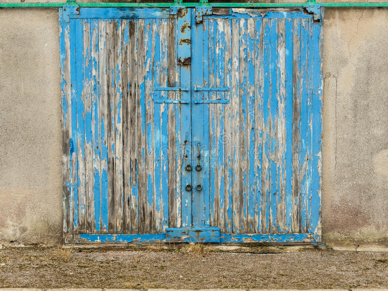 Download Old Blue Barn Door Stock Photo. Image Of Photography   58892276