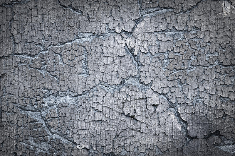 Old blue cracked wall royalty free stock photos