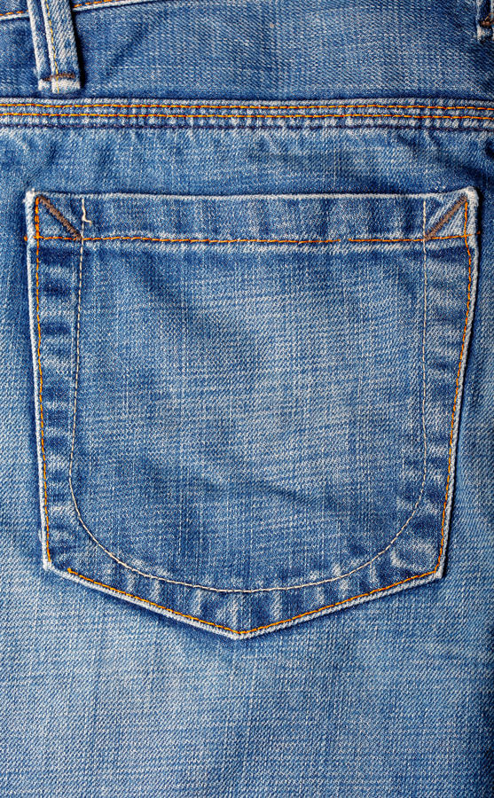 Download Old Blue Jeans stock photo. Image of color, clothing - 16066090