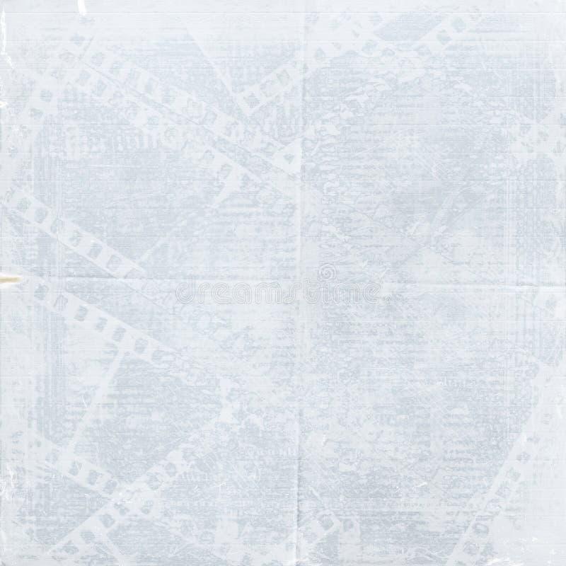 Download Old Blue Papers And Grunge Filmstrip Stock Illustration - Image: 13141738