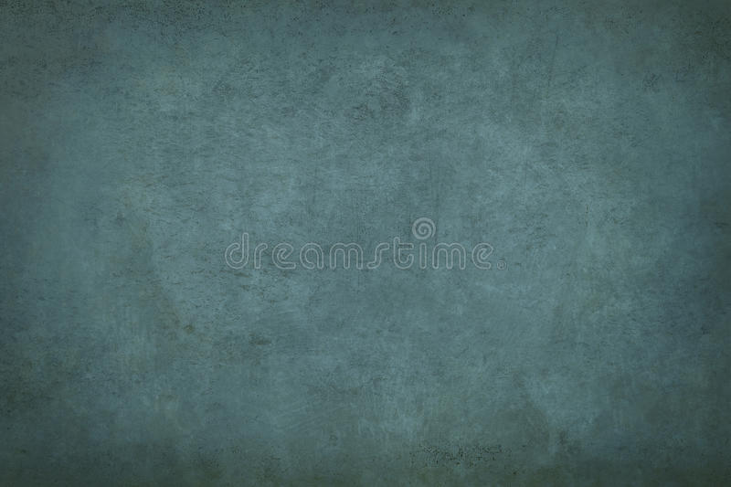 Old blue wall. Old wall background or texture stock photo