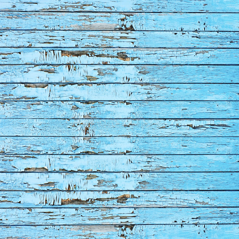 Old blue wood plank background. stock photos