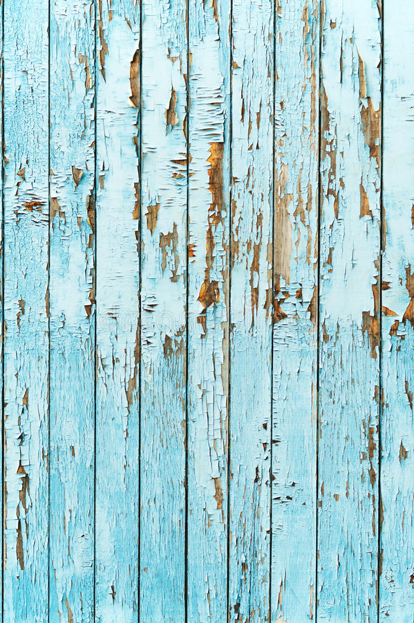 Old blue wood plank background. royalty free stock photography