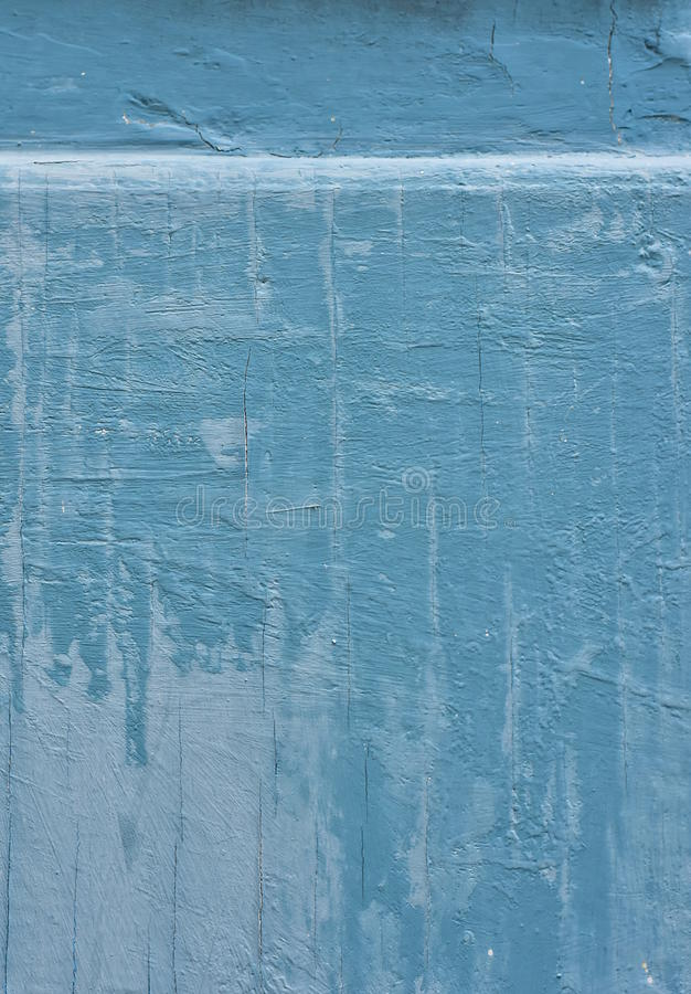 Old blue wooden background stock photography