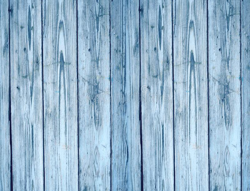 Old blue wood texture background stock photo