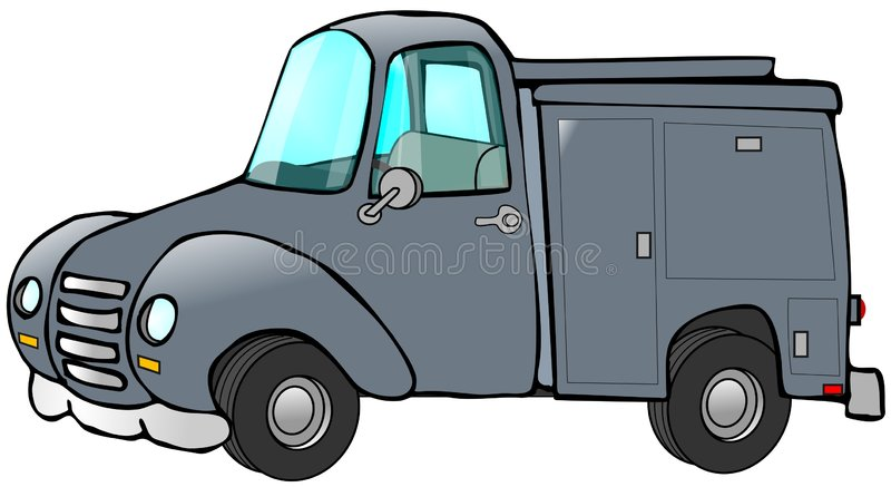 Old Blue Work Truck